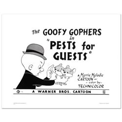 """Goofy Gophers"" Limited Edition Giclee from Warner Bros., Numbered with Hologram Seal and Certificat"