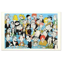 """Xavier Cugat (1900-1990), """"Hollywood"""" Limited Edition Lithograph, Numbered and Hand Signed with Lett"""