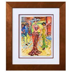 "Patricia Govezensky- Original Watercolor ""Yuliana"""