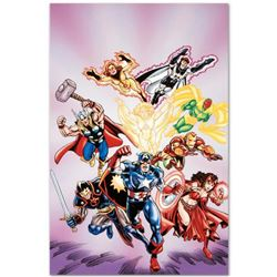 """Marvel Comics """"Avengers #16"""" Numbered Limited Edition Giclee on Canvas by Jerry Ordway with COA."""