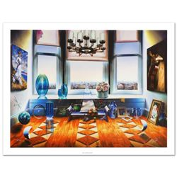 """""""City View"""" Limited Edition Giclee on Canvas (40"""" x 30"""") by Ferjo, Numbered and Hand Signed by the A"""