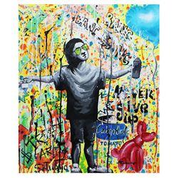 "Nastya Rovenskaya- Original Oil on Canvas ""Young And Free"""