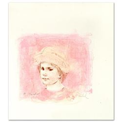 """Alberto"" Limited Edition Lithograph by Edna Hibel (1917-2014), Numbered and Hand Signed with Certif"