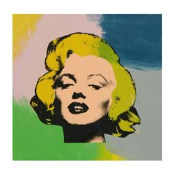 "Steve Kaufman (1960-2010), ""Marilyn Monroe"" Hand Painted Limited Edition Silkscreen on Canvas, Numbe"