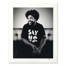 "Rob Shanahan, ""Questlove"" Hand Signed Limited Edition Giclee with Certificate of Authenticity."