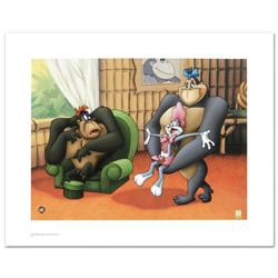 """""""Gorilla My Dreams"""" Limited Edition Giclee from Warner Bros., Numbered with Hologram Seal and Certif"""