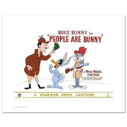 """""""People are Bunny"""" Limited Edition Giclee from Warner Bros., Numbered with Hologram Seal and Certifi"""