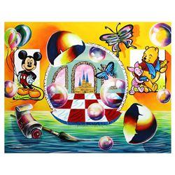 "Alexander Astahov- Original Oil on Canvas ""View to Disney World"""