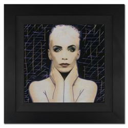 "Ringo Daniel Funes - (Protege of Andy Warhol's Apprentice - Steve Kaufman), ""Annie Lennox"" Framed On"