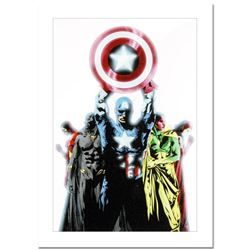 """Marvel Comics, """"Avengers #491"""" Numbered Limited Edition Canvas by Jae Lee with Certificate of Authen"""