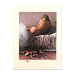 """Douglas Hofmann, """"Satin Slippers"""" Limited Edition Lithograph with Remarque, Numbered 49/50 and Hand"""