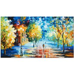 """Leonid Afremov (1955-2019) """"Expansive Canopy"""" Limited Edition Giclee on Canvas, Numbered and Signed."""