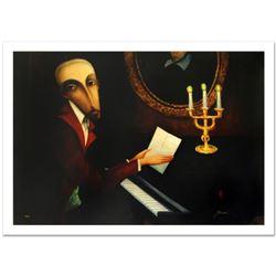 "Sergey Smirnov (1953-2006), ""Tchaikovsky"" Limited Edition Mixed Media on Canvas (40.5"" x 30""), Numbe"