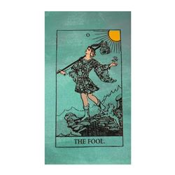 """Steve Kaufman (1960-2010), """"Tarot, The Fool"""" Hand Signed and Numbered Limited Edition Hand Pulled si"""