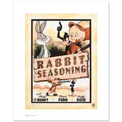 """""""Rabbit Seasoning"""" Limited Edition Giclee from Warner Bros., Numbered with Hologram Seal and Certifi"""