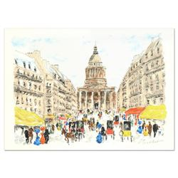 """Urbain Huchet, """"Pantheon"""" Limited Edition Lithograph, Numbered and Hand Signed."""