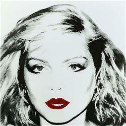 "Andy Warhol- Screenprint in colors ""Debbie Harry White 1980"""