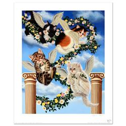 """""""Heaven Sent"""" Limited Edition Lithograph by Barbara Higgins-Bond. Numbered and Hand Signed by the Ar"""
