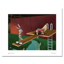 """""""High Diving Hare"""" Numbered Limited Edition Giclee from Warner Bros, with Certificate of Authenticit"""