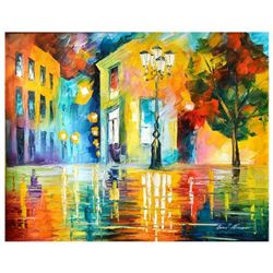Leonid Afremov, Original Oil Painting on Canvas, Hand Signed with Letter of Authenticity.