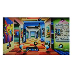 "Ferjo, ""A Room of Genius"" Limited Edition on Canvas, Numbered and Signed with Letter of Authenticity"