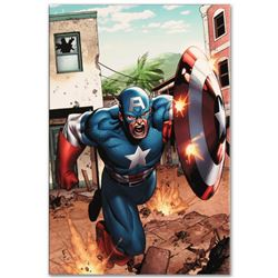 "Marvel Comics ""Marvel Adventures: Super Heroes #8"" Numbered Limited Edition Giclee on Canvas by Clay"