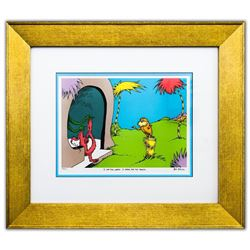 "Dr. Seuss- Lithograph on B.F.K. Rives Paper ""I AM THE LORAX, I SPEAK FOR THE TREES"""