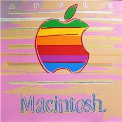 "Andy Warhol- Screenprint in colors ""Apple from Ads Portfolio"""