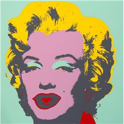 "Andy Warhol- Silk Screen ""Marilyn Monroe 11.23"""