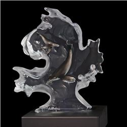"Kitty Cantrell, ""Mother Nature"" Limited Edition Mixed Media Lucite Sculpture with COA."