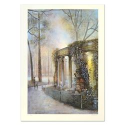 """Antonio Rivera, """"Luxembourg"""" Limited Edition Lithograph, Numbered and Hand Signed."""