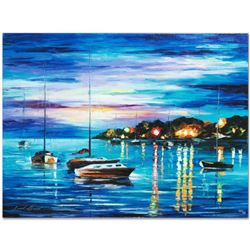 "Leonid Afremov (1955-2019) ""Out All Night"" Limited Edition Giclee on Canvas, Numbered and Signed. Th"