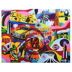 "Nastya Rovenskaya- Mixed Media ""Casino Life"""