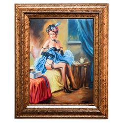 Taras Sidan- Original Giclee on Canvas  Alone