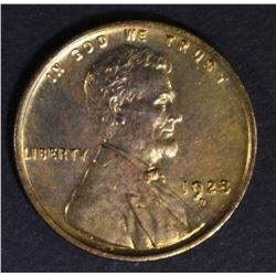 1928-D LINCOLN CENT BU RB