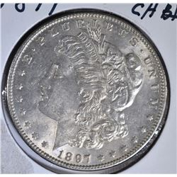 1897 MORGAN DOLLAR CH BU