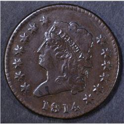 1814 LARGE CENT  AU