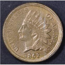 1863 INDIAN CENT CH BU