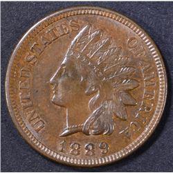 1889 INDIAN CENT GEM BU BN