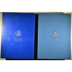 1986 & 87 U.S. PRESTIGE SETS ORIG PACKAGING
