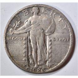 1926 STANDING LIBERTY QUARTER  ORIG UNC