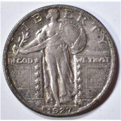 1927-D STANDING LIBERTY QUARTER  XF/AU