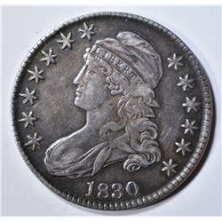 1830 BUST HALF DOLLAR  XF