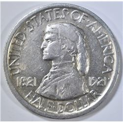 1921 MISSOURI COMMEM HALF DOLLAR  AU