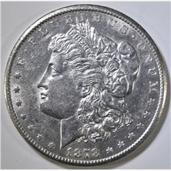 1878-CC MORGAN DOLLAR, AU/BU