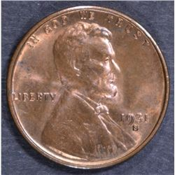 1931-S LINCOLN CENT CH/GEM BU RB