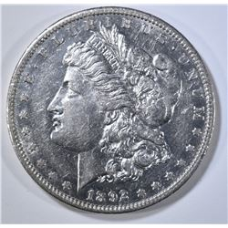 1892-S MORGAN DOLLAR AU