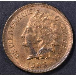 1908 INDIAN CENT CH BU RED