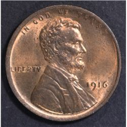 1916 LINCOLN CENT CH BU RED
