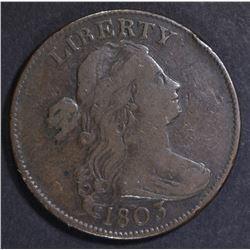1803 LARGE CENT F/VF
